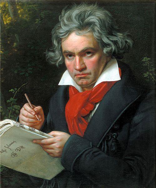 """""""Beethoven"""" - Joseph Karl Stieler"""