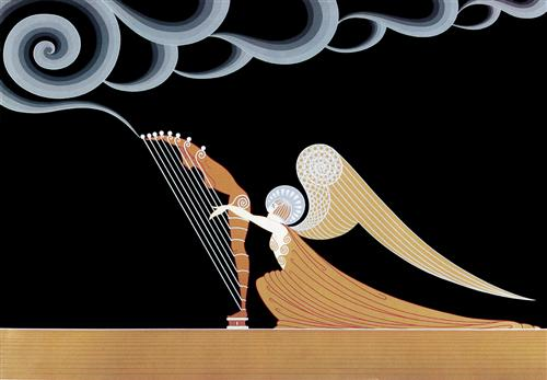 "Erte - ""The Angel"""
