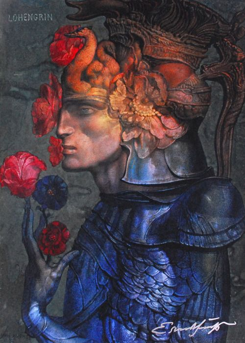 """""""Lohengrin"""" - Ernst Fuchs"""