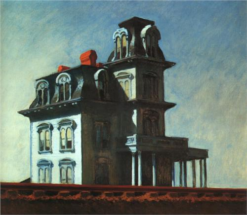 """House by the Railroad"" (1925) - Edward Hopper"