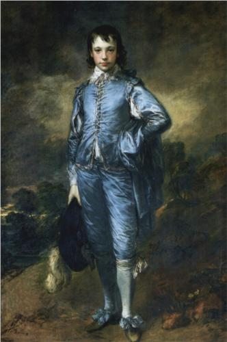 "Thomas Gainsborough - ""The Blue Boy (Portrait of Jonathan Buttall"" (1770)"