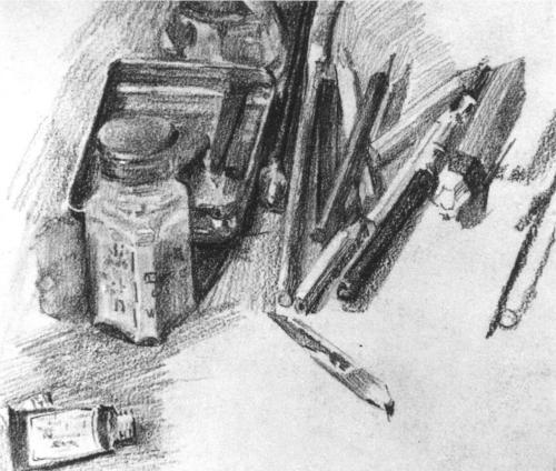 "Mickail Vrubel - ""Pencils' (1905)"