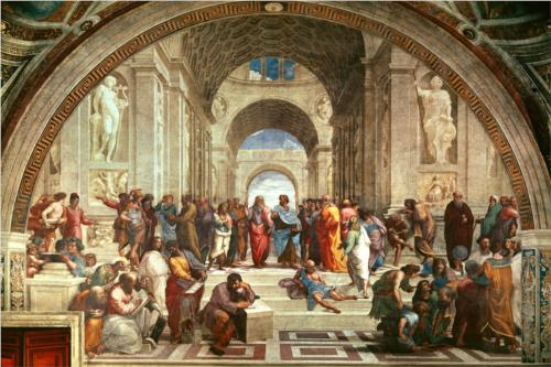 "Raphael - ""The School of Athens"""