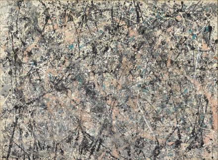 """Jackson Pollock - """"Number 1 (Lavender Mist)"""""""