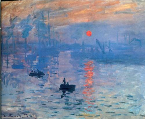 "Claude Monet - ""Impression, Sunrise"""