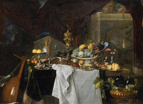 "Jan Davidszoon de Heem - ""A Table of Desserts"" (1640)"