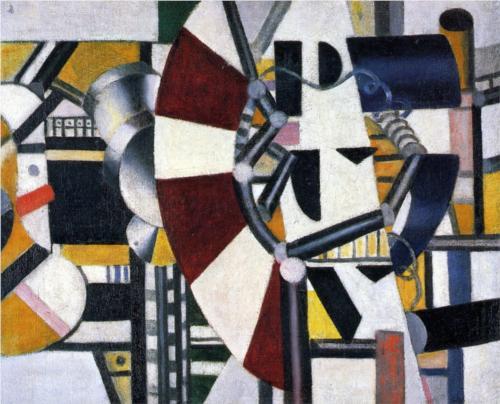 """Fernand Léger - """"Les éléments mécaniques"""""""" (1920)"""