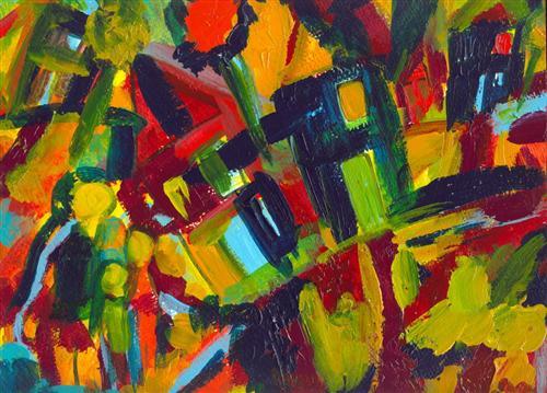 """Wassily Kandinsky - """"304"""""""