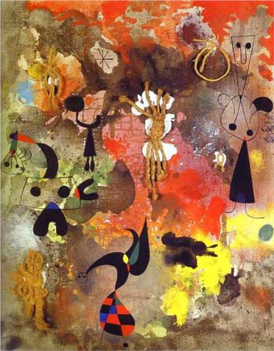 "Joan Miró - ""Painting"" (1950)"