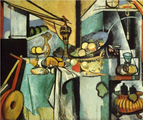 "Henri Matisse - ""Still Life after Jan- Davidsz de Heem's 'La desserte'"""