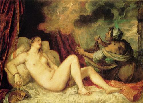 """Titian """"Danaë"""" (1554)"""