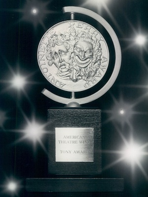 the Tony Award Medallion