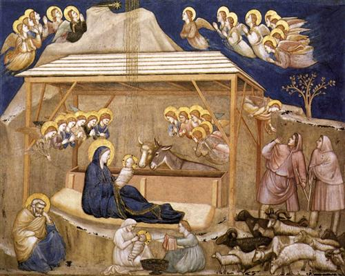 "Giotto - ""Nativity"" (1311-1320)"