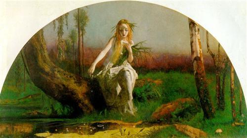 """""""Ophelia"""" - Arthur Hughes"""