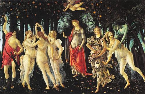 """Sandro Botticelli - """"Primavera"""""""