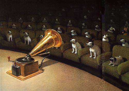 """""""Their Master's Voice"""" - Michael Sowa"""