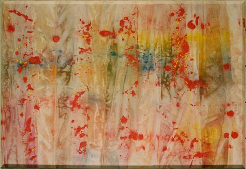 """Red April"" - Sam Gilliam"