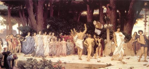 """The Daphnephoria"" - Frederic Leighton"