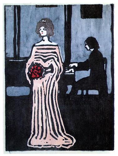 """""""The Singer"""" - Wassily Kandinsky"""