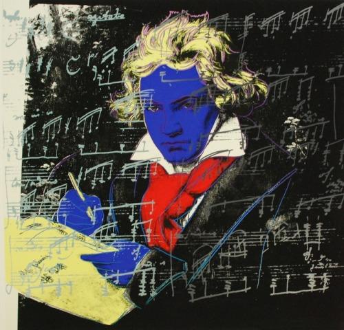 """Beethoven, 1987"" -  Andy Warhol"