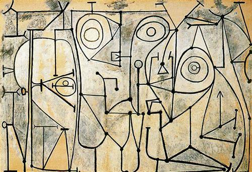"""The Kitchen""  - Pablo Picasso"