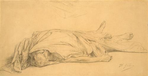 """""""The Dead Caesar"""" -  Jean-Léon Gérôme"""