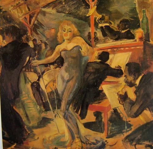 """""""Hot Jazz"""" - Frank Kline"""