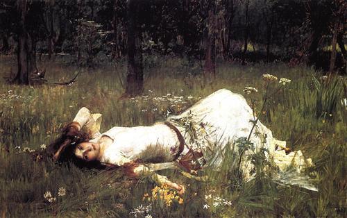 """Ophelia"" -  John William Waterhouse"