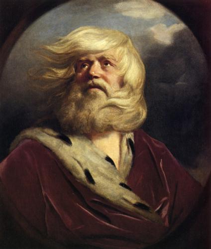 """Study for King Lear"" - Joshua Reynolds"