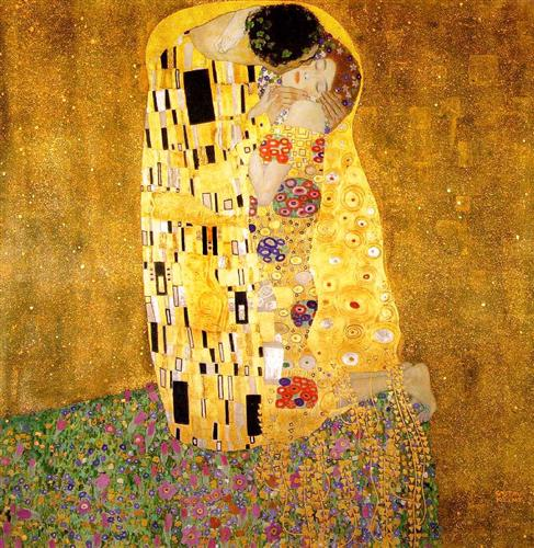 """The Kiss"" - Gustav Klimt"