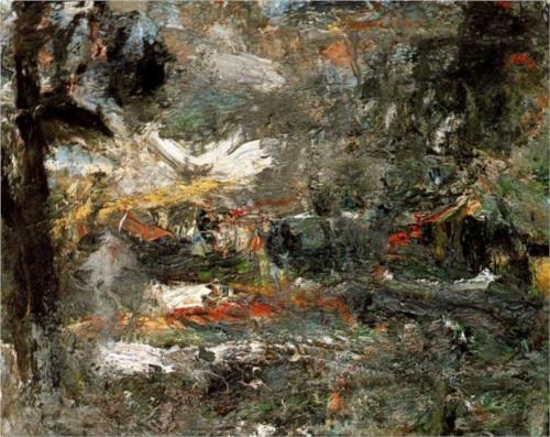 """November"" - Eugène Leroy"