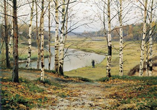 """October"" - Efim Volkov"