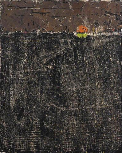 """The Black City l (New York)"" - William Congdon"