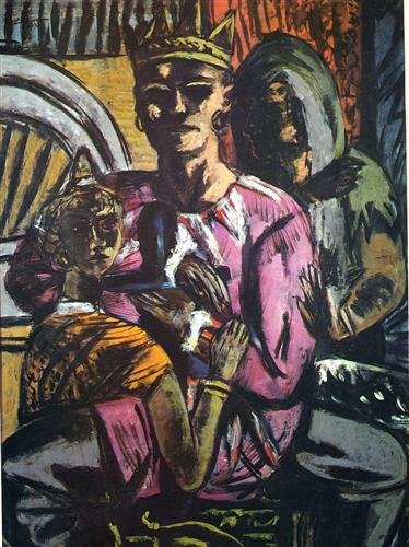 """The King"" - Max Beckmann"