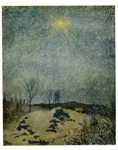 """December"" - Theodor Severin Kittelsen"