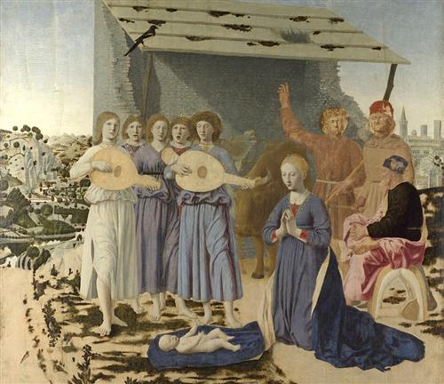 """Nativity"" - Piero della Francesca"