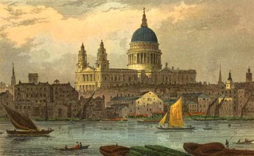 St_Paul's_by_Thomas_Hosmer_Shepherd_(early_19th_century)